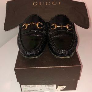 Women's authentic Gucci loafer.
